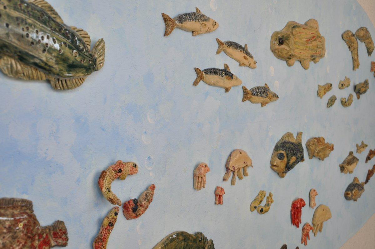 Fischwand
